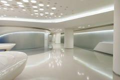 stilfullt modernt kontor royaltyfri foto