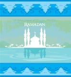 Stilfullt ramadan kareemkort Royaltyfri Foto