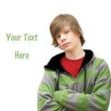 stilfullt tonårs- för pojke Royaltyfri Foto