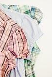 Stili della camicia Fotografia Stock Libera da Diritti
