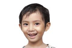 Stilig asiatisk pojke. Arkivfoton