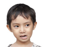 Stilig asiatisk pojke. Arkivbilder