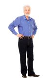 Stilig äldre man med skägget Royaltyfria Bilder