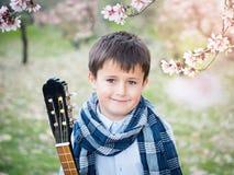 Stilig ung pojkestående royaltyfri fotografi