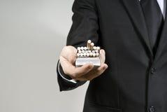 stiliga shows för cigarettgrabb Royaltyfri Foto