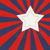 Stiliserad amerikanska flaggan Royaltyfri Fotografi