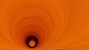 Stiliserad djup orange tunnel 16x9 Royaltyfri Fotografi