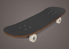 Stiliserad skateboardillustration Royaltyfri Fotografi