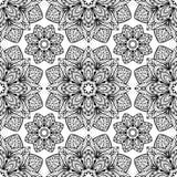 Stiliserade blom- beståndsdelar Arkivbild