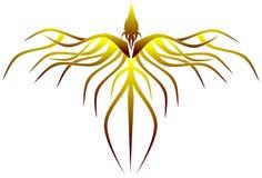 Stiliserade phoenix Arkivbild