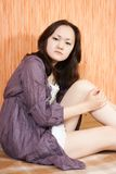 Stilish asian girl Stock Photography
