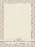 Stilish Wedding invitation Stock Image