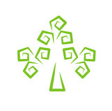 Stilisiert Baum lizenzfreie stockfotografie