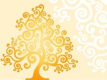 Stilisiert Baum Stockfotografie