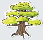 Stilisiert Baum. Lizenzfreie Stockfotografie