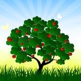 Stilisiert Baum Lizenzfreies Stockbild