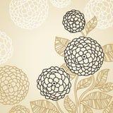 Stilisiert Blumen Stockfoto