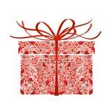 Stilisiert Geschenk -   Lizenzfreies Stockfoto