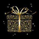 Stilisiert Geschenk - Vektor Lizenzfreies Stockfoto