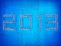 Stilisiert Hintergrund des glücklichen neuen Jahres 2013. Lizenzfreies Stockbild