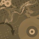 Stilisiert Hintergrund - O2 vektor abbildung