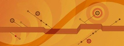 Stilisiert Hintergrund - o3 stock abbildung