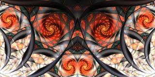 Stilisiert Rosen stock abbildung