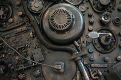 Stilisiert von einem steampunk mechanisch Lizenzfreie Stockfotografie
