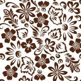 Stilisierte Blumenverzierung Lizenzfreie Stockfotos