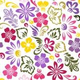 Stilisierte Blumenverzierung Lizenzfreies Stockfoto