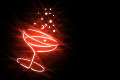 Stilisierte Feiertagssymbole der Illustration auf schwarzem background-3 lizenzfreie abbildung