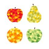 Stilisierte Früchte Stockbild