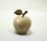 Stilisierter Apfel des Steins Lizenzfreie Stockfotos