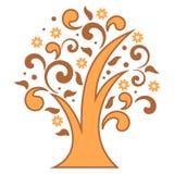 Stilisierter Baum Lizenzfreie Stockfotografie