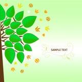 Stilisierter Baum Lizenzfreies Stockfoto