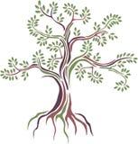 Stilisierter Baum der Schönheit Lizenzfreie Stockbilder