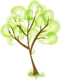 Stilisierter Baum der Zusammenfassung Lizenzfreie Stockfotografie