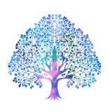 Stilisierter bunter Baum Lizenzfreie Stockfotografie