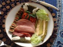 Stilisierter Salat Stockbilder
