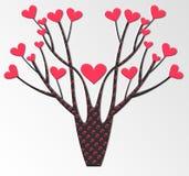 Stilisierter Vektorbaum Stockbilder