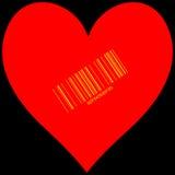Stilisiertes Herz für Verkauf Lizenzfreie Stockbilder