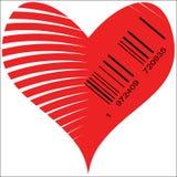 Stilisiertes Herz für Verkauf Lizenzfreie Stockfotos