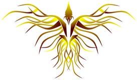 Stilisiertes Phoenix Stockfoto