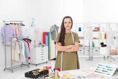 Stilista in sala d'esposizione Fotografia Stock