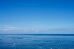 Still Baltic sea. Royalty Free Stock Image