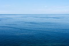 Still Baltic sea. Royalty Free Stock Photography
