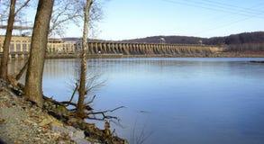 Conowingo Dam on the Susquehanna River, Maryland, USA stock image