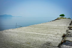 Still and calm ocean Royalty Free Stock Photography