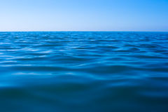 Still calm sea water surface royalty free stock image