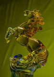Still categories: glass horse Stock Image